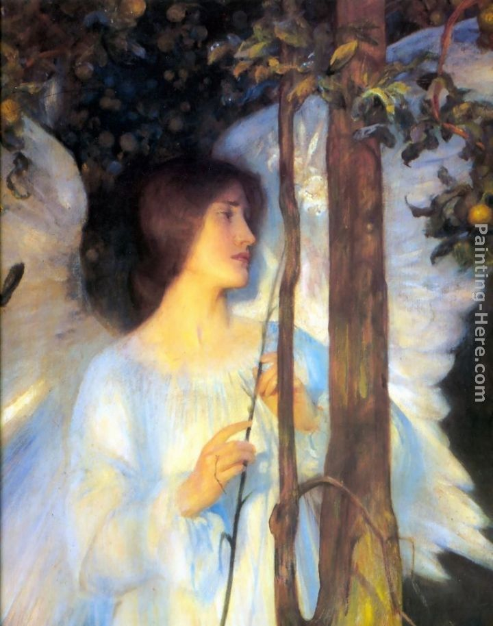 Arthur Hacker The Cloister or the World [detail]